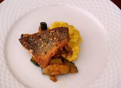 Und immer auch herrlicher Fisch von den Questers!